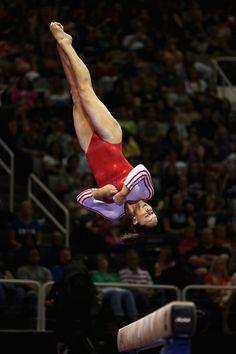 Jordyn Wieber- The Olympics make me miss my gymnastic days like no other.