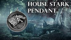 """""""Winter is coming"""" Show your love for House Stark with this carefully crafted metal pendant with fine-detail carving. This is a must-have accessoire for every G Game Of Thrones Drawings, Game Of Thrones Fans, Game Of Thrones Necklace, House Stark, Love Games, Winter Is Coming, Pictures Of You, Carving, Iron"""
