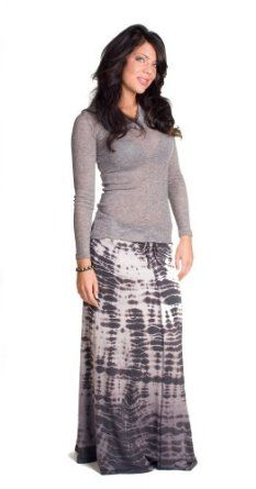 Hard Tail tie dye maxi skirt
