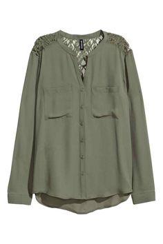 Szyfonowa bluzka | H&M