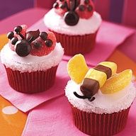 Carrot Cupcakes Cupcakes Pinterest Carrots Cake And - Bug cupcake decorating ideas