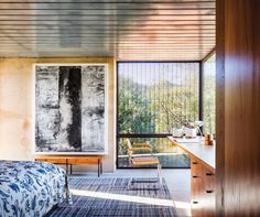 Napa Valley retreat,Eliot Lee,modern architecture,mid century furniture,design