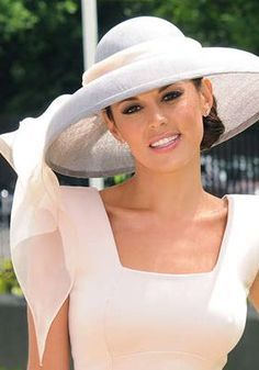 Danielle Linekar - Royal Ascot 2010. Hat by Rachel Trevor-Morgan Millinery.