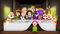 Snow White - Last Supper by hiugo on DeviantArt