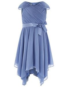 d5fdcaad0d223 A crinkled plisse texture and wrapped neckline add Grecian beauty to our  Gracie dress for girls
