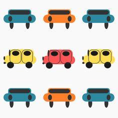 Free digital kids car scrapbooking paper - ausdruckbares Geschenkpapier - freebie | MeinLilaPark – DIY printables and downloads
