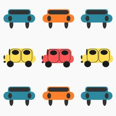 Free digital kids car scrapbooking paper - ausdruckbares Geschenkpapier - freebie
