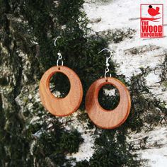 Handmade Wood Earrings