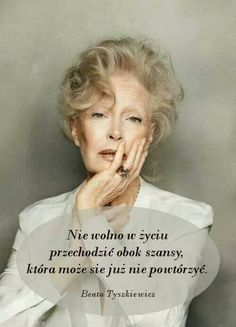 "polish-actresses: "" Beata Tyszkiewicz photographed by Bartek Wieczorek. Famous Polish People, Motto, Cinema Actress, Older Models, Ageless Beauty, Jane Fonda, Aging Gracefully, Life Is Beautiful, Beautiful Women"