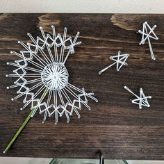String Wall Art, Nail String Art, String Crafts, Hanging Wall Art, Craft Kits, Diy Kits, Craft Ideas, Craft Supplies, Decor Ideas