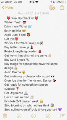 My Summer Glow up List of School Routine For Teens, Life Hacks For School, Girl Life Hacks, Beauty Tips For Glowing Skin, Health And Beauty Tips, Back To School Glo Up, Beauty Routine Checklist, Vie Motivation, The Glow Up