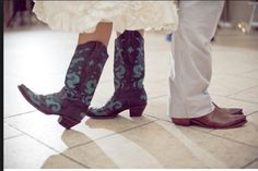 cool wedding boots!