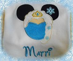 Frozen Elsa Shirt  Disney Cold Queen Shirt Mouse Head Personalized - Magical Mister Mouse Anna Olaf on Etsy, $26.00