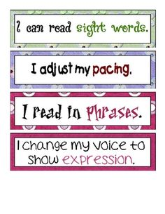 FREE! Cafe' strategy signs for extending vocabulary and fluency.  These signs can be used on your Cafe' board or during guided reading....