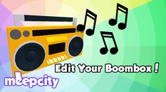 [BoomBox!] MeepCity - ROBLOX