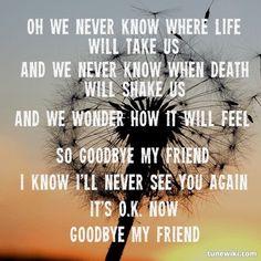 goodbye my friend karla bonoff