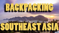 4 SPECTACULAR months backpacking Southeast Asia! Check out this highlight video! #backpacker #travel #backpacking #ttot #tent #traveling https://www.youtube.com/watch?v=KjIGosTvdj0