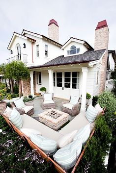 Outdoor living area.: Outdoor living area.