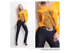 Blusa  Tamanhos/cores: P, G/amarela M/coral