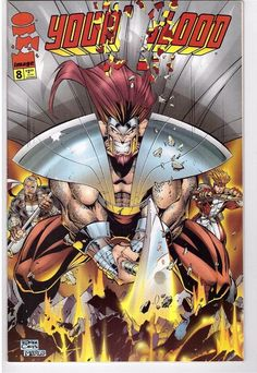 Youngblood #8 May 1996 Image Comic Book Rob Liefeld