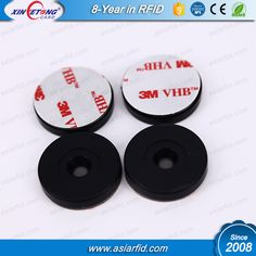 ISO14443A Classic 1K RFID Passive ABS Anti-metal RFID Tags for vehicles