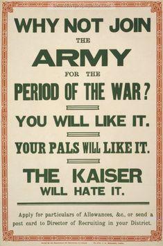 Examples of Propaganda from WW1 | Irish WW1 Propaganda Posters Page 3