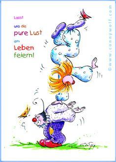 Lasst uns das Leben feiern ... :-) Let's celebrate life!