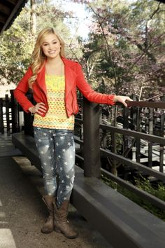 Kim Crawford from kickin it my favorite show