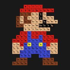 Check out this awesome 'Periodic+Mario+Table' design on TeePublic! http://bit.ly/1s83IEV