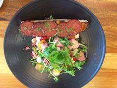 #octopus salad with #chorizo #rottnestisland #rottnest #hotelrottnest #islandexplorer #islandlife #westernaustralia #travelaustralia by travelwizards http://ift.tt/1L5GqLp