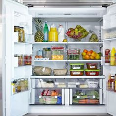 Properly stocking your fridge is one of the first—and best—ways to make a healthier life change.