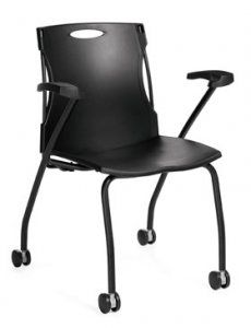 Global Flex Nesting FOLDING ARMCHAIR SKU: 6546 Our mission is to produce products of world class design that the average person can afford. Global offers a very broad range of products and services to meet the needs of today's changing workplace. Call for more Fabric options Availability: 4 Available Color(s) Pricing: $230.53