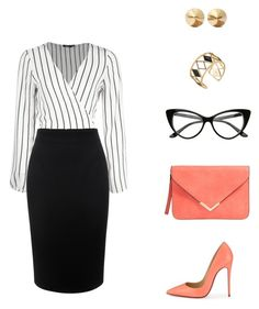 """workwear"" by kisfoldidia-1 on Polyvore featuring Christian Louboutin, Alexander McQueen, Eddie Borgo and Rebecca Minkoff"