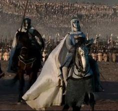 Em 1175, pela primeira vez, Balduíno IV cavalgou à frente de seu exército e liderou em campanha.