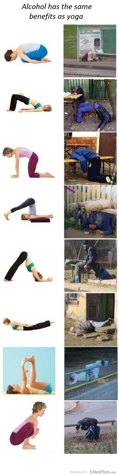 let's go to a bar for some yoga drinks