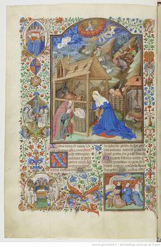 Bréviaire de Salisbury, fait pour le duc de Bedford. Date d'édition : 1430-1440 Type : manuscrit Langue : Latin Droits : domaine public Identifiant : ark:/12148/btv1b8470142p