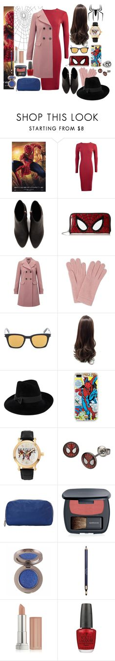 """The Sophisticated Spider"" by capfan2014 on Polyvore featuring Boohoo, Alexander Wang, Loungefly, Miss Selfridge, L.K.Bennett, Yves Saint Laurent, Mademoiselle Slassi, Marvel, Marvel Comics and LeSportsac"