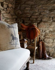 Horsing around: equestrian decor