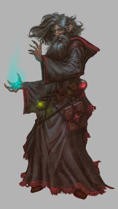 necromaner Deadhand, traded his hand for powers
