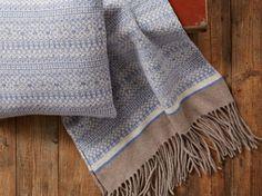 Scandi Blanket chunky knit blanket wool by SuzieLeeKnitwear