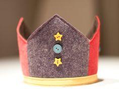Wool Felt Birthday Crown