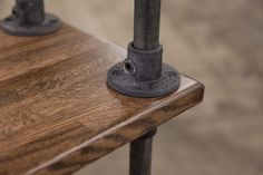 The beauty is in the details, this is the corner detail for our Ellis Sideboard.
