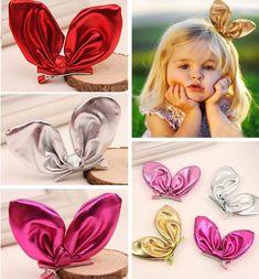 Kid Baby Girl Child Headwear Bunny Ear Hair Clips Hairpins Headdress Accessories