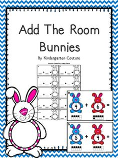 This Bunny Theme Add The Room has a number on each bunny with a  ten frame below to help with adding sums to 10. There are 10 half page posters to copy and laminate and hang around the room. Students will take a recording sheet and clipboard and walk around the room writing the addition problem and answer on the recording sheet.Add The Room *Spring FlowersReading Bundle For Chutes and LaddersCandy Land Cards Bundle #1 Come Here - A St.