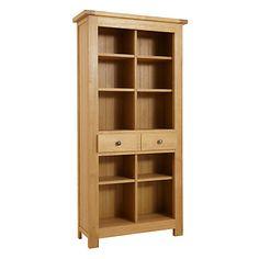 Buy John Lewis Pendleton Bookcase, Oak, H200cm £999 H200 x W100 x D35cm
