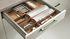 Küchentime, cajones a medida. Y otros utensilios.