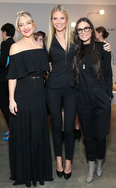 Kate Hudson, Gwyneth Paltrow & Demi Moore from The Big Picture: Today's Hot Pics  The beautiful ladies celebrate the opening of Goop Gift with La Perla in Santa Monica.