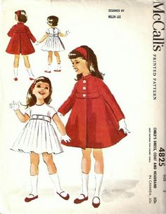 McCall's 4825 by Helen Lee © 1958.