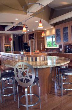 Unique Tropical Style Kitchen Cabinets