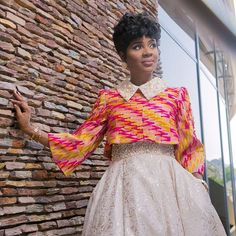 Ankara in Full Bloom! Ankara is setting the trends in the fashion world and the list of styles you can choose from is fast becoming endless. Whatever the occasion or… African Maxi Dresses, Latest African Fashion Dresses, African Dresses For Women, African Print Fashion, African Wear, African Style, African Blouses, African Shirts, Trendy Ankara Styles